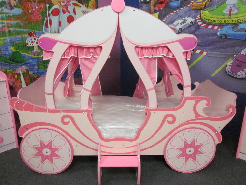 princess carriage bed instructions