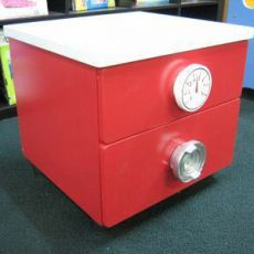 Childrens - Bedside Table Fire Engine